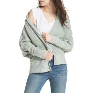 FREE PEOPLE Motions Inside Out Seam Cardigan